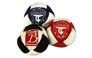 Custom Printed Footbags (Hacky Sacks)